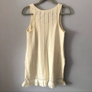 Anthropologie Tops - Anthropologie Knitted & Knitted Fringe Tunic Top